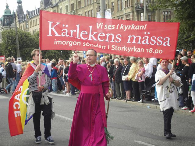 De kristna samfunden och homosexualitet